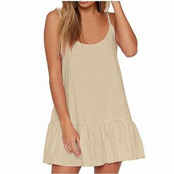 116 Women's Casual Crewneck Sleeveless Ruched Stretchy T
