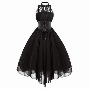 aihihe Sexy Halloween Costumes for Women Lace Vintage