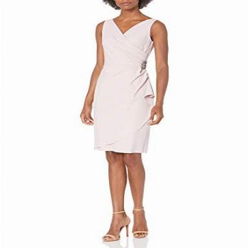 Alex Evenings Women's Mother of The Bride, Blush, 4