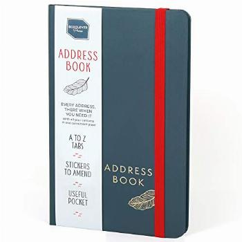 Boxclever Press Address Book. Address Book with Tabs & an