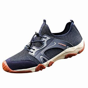 Men's Fashion Retro Outdoor Sneakers Breathable Mesh Running