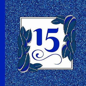 Quinceanera Guest Book: Beautiful Royal Blue Quinceanera