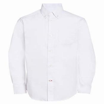 Tommy Hilfiger Boys' Little Long Sleeve Solid Oxford