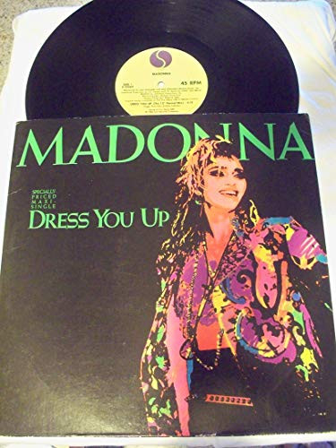 45vinyl DRESS YOU UP (The 12quot Formal Mix) / DRESS YOU UP