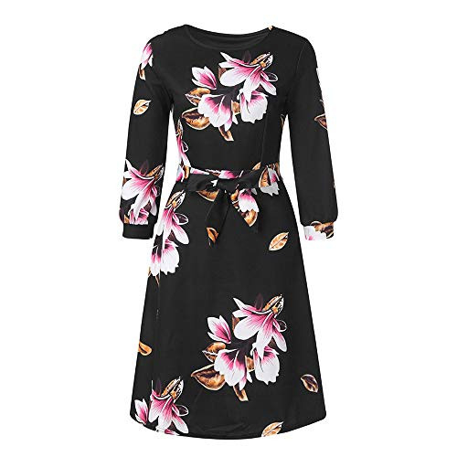 Aniywn Womens Party Dresses Knee-Length Casual A-Line Lace