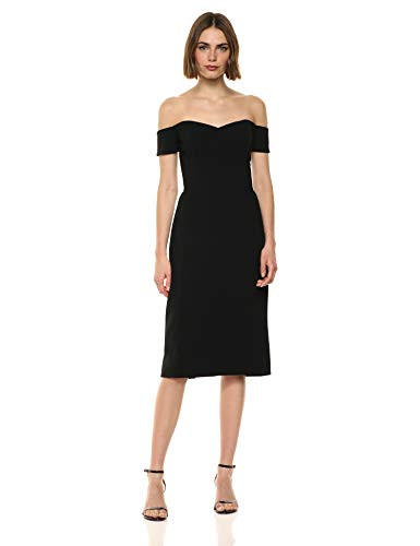 Dress the Population Womens Bailey Off The Shoulder