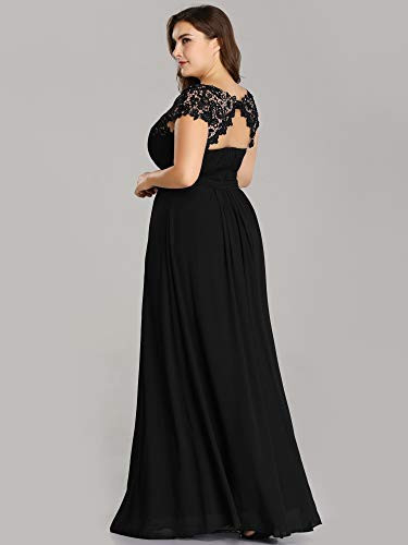 Ever-Pretty Womens A-Line Lace Plus Size Mother of The Groom