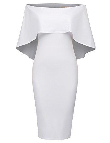 GRACE KARIN Womens Off Shoulder Party Dress Sexy Bodycon