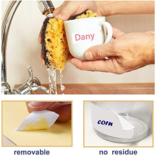 Removable Label Stickers Waterproof Labels Practical File