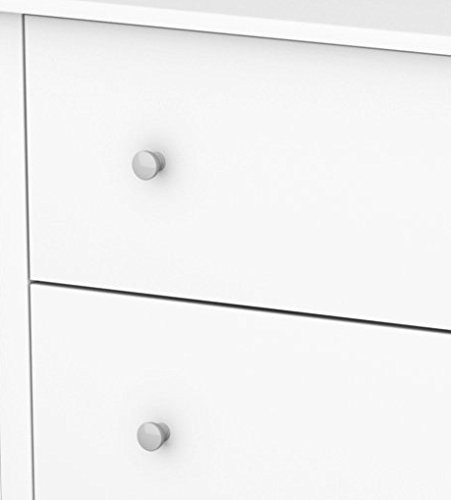 South Shore Vito Collection 6-Drawer Double Dresser, Pure