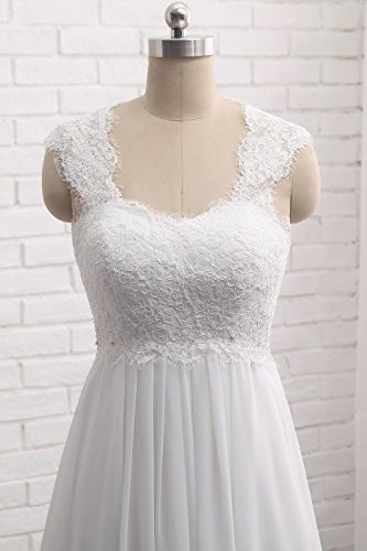 Wedding Dresses for Bride 2021 US 12 Ivory Lace Bridal Gowns
