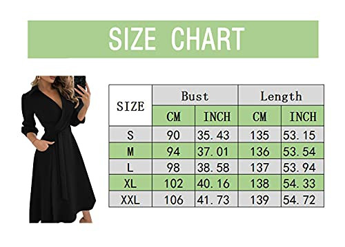 Womens 2021 Casual Long Sleeve Party Maxi Dress Belted